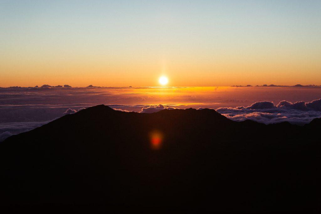 Sunrise Haleakala National Park